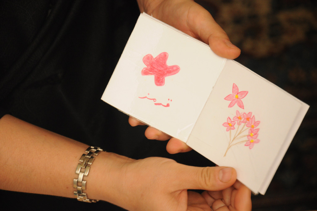exhibition of books made by mothers for their children in Isfahan-hasseh- Read with Me-2015