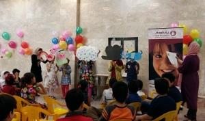 فعالیت های در پیوند با بلندخوانی / با من بخوان در بنیاد کودک - شهریور 94