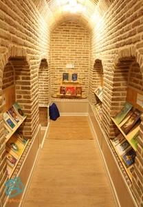 Child-centered library of Koosha House of kids - Sep 2015