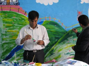 Dramatic arts related to Book Reading- workshop- lorestan-koohdasht-2015 oct