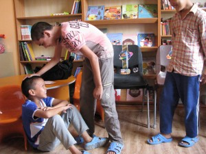 Performing a play- Dramatic arts workshop for children -Read with Me -MahmoodAbad- 2015