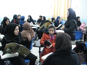 RWM Advanced workshops - Read with Me in South Khorasan - Dec 2015