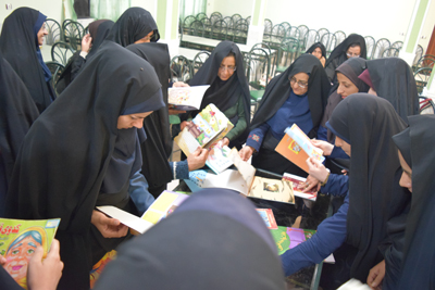 Quality Books for Children - Read with Me in South Khorasan - December 2015
