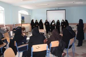 Teachers and tutors in reading aloud workshop - Read with Me in Zahedan - Dec 2015