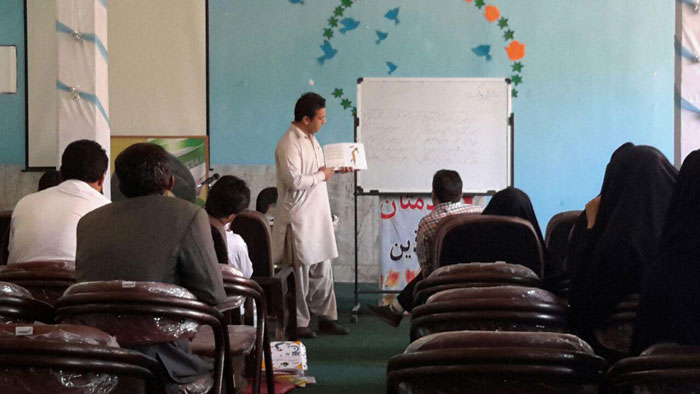 Learning Alphabet Workshop - RWM in Iranshahr - Dec 2015