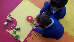 Activities Related to Reading Aloud - Read with Me in MahmoodAbad, Tehran - Jan 2016
