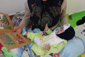 خواندن با نوزاد و نوپا- محمودآباد شهرری- 1394