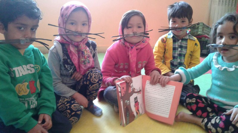 Learning Alphabet activities - Read with Me in MahmoodAbad