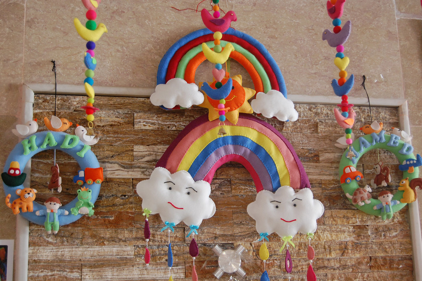 Handmade toy made by a mother after Babies and Toddlers Workshop - Read with Me in MahmoodAbad