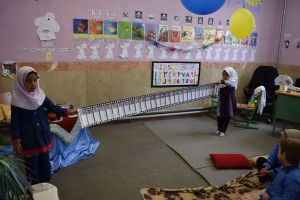 Activities Related to Reading Aloud - Read with Me in South Khorasan - Mar 2016