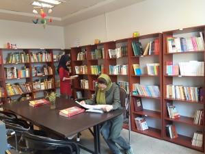 کتابخانه کارخانه سازورسازه آذرستان- اسفند 1394