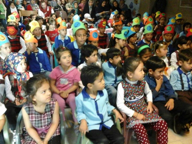 جشن پایان سال محمودآباد- خرداد 95