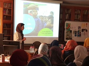 Ghaeeni in Children's Book Council Session - Sep 2016