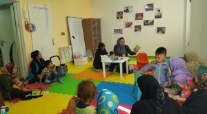 Reading with Babies and Toddlers - RWM in MahmoudAbad - Sep 2016