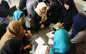 Tutors from Afghanistan in RWM workshops - Read with Me in MahmoudAbad - Sep 2016
