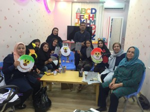 Read with Me workshops in Jam, Bushehr - Sep 2016