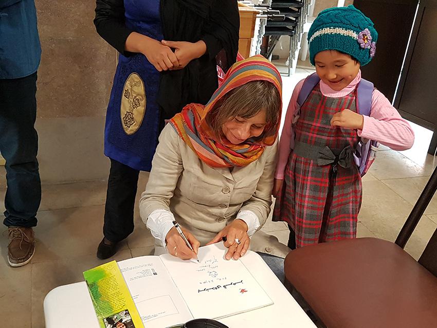 Marit Törnqvist Book Signing - Read with Me in Mahmoodabad - November