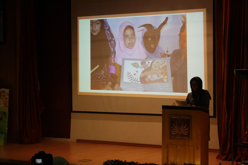 Zohreh Ghaeni in Read with Me Conference