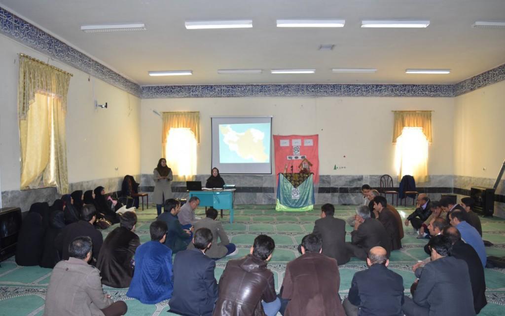 خرم آباد- جلسه توجیهی مدارس عشایری و روستایی- آذر 95