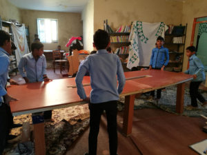 Children help in works - Read with Me in Qeshm - February 2017
