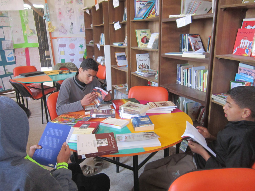 IBBY libraries in Gaza