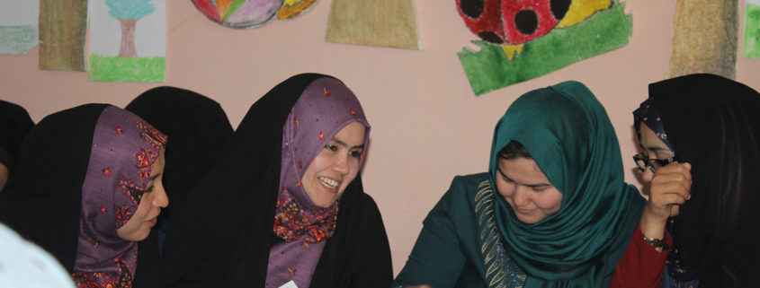 """Read with Me"" starts the new school year in Mazar-e-Sharif with motivation!"