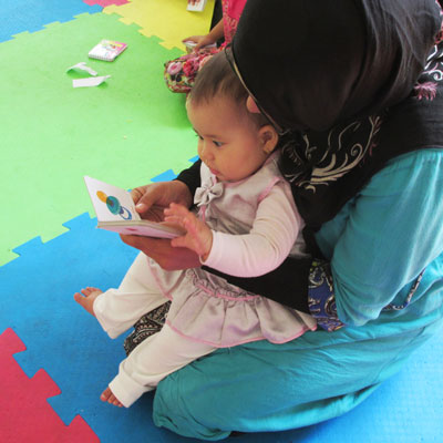 Reading with Babies and Toddlers