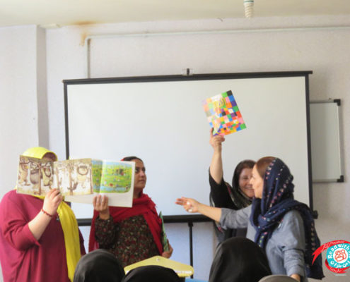 Read with Me Library Workshops in MahAbad and Paveh