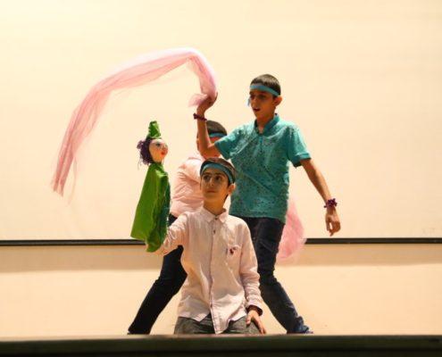 اجرا نمایش توسط کودکان