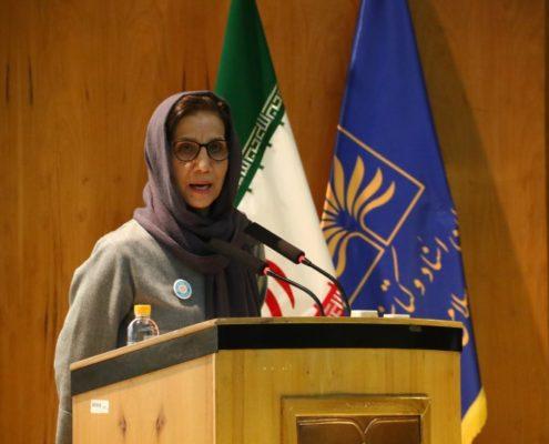 سخنرانی خانم زهره قایینی