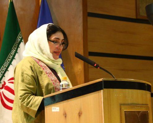 سخنرانی خانم سهیلا فلاح پور