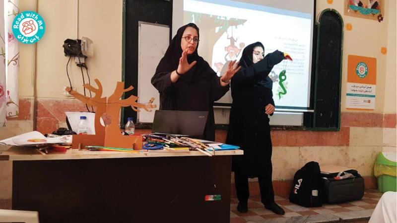 آموزش واکهای الفباورزی همراه با عروسک کاکاکلاغه