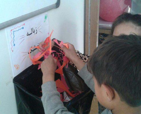 بلندخوانی داستانک دوم آواورزی، محمودآباد، مهر ۹۶