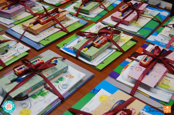بستههای کتاب کودکان کورهپزخانههای جنوب تهران
