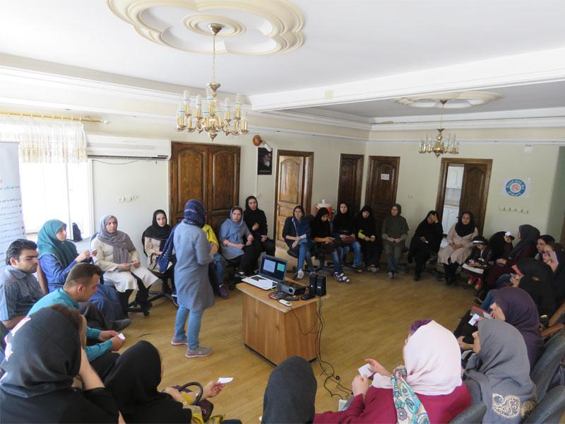 برگزاری کارگاههای «کتابخانه های با من بخوان» در دو شهر مهاباد و پاوه