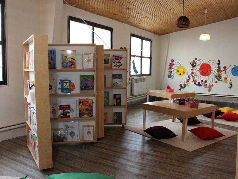 کتابخانه کودکمحور یحیی مافی