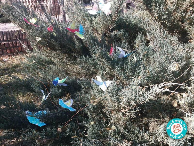 پرندههای کاغذی