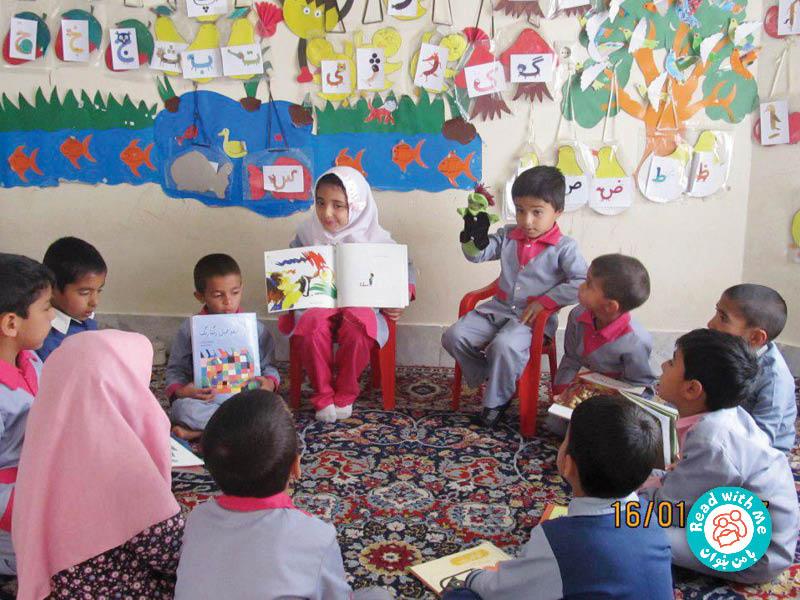 نشستهای بلندخوانی باعث شده بچهها خلاق و مستقل شوند و خودشان از عهده اداره کلاس برآیند.