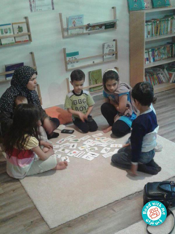 بازی با کارت و پیدا کردن تفاوتها و شباهتها