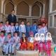 بلندخوانی کتاب «دویدم و دویدم» و بازدید از میراث فرهنگی شهرستان خوسف، امرداد۹۶
