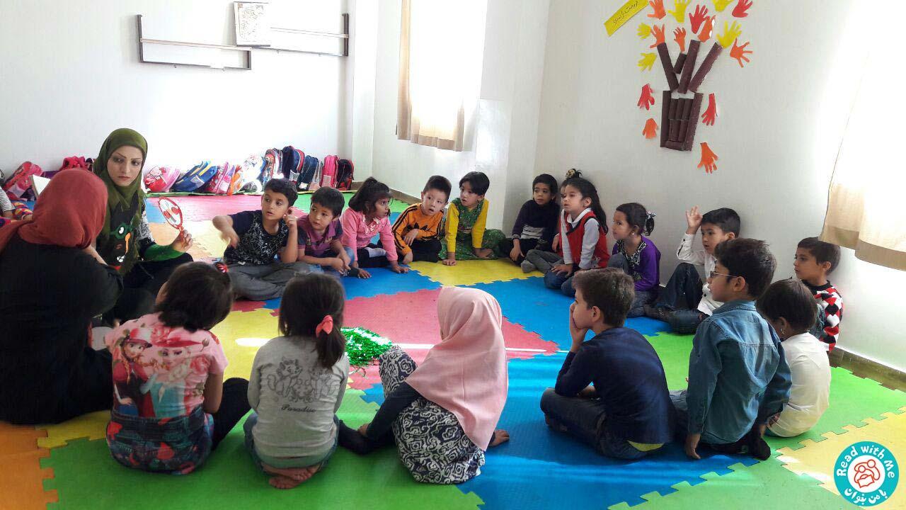 بلندخوانی داستانک سوم آواورزی، محمودآباد، مهر 96
