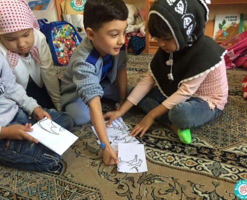 بازی با پازل سیبیلک کتاب آواورزی، محمودآباد، مهر96