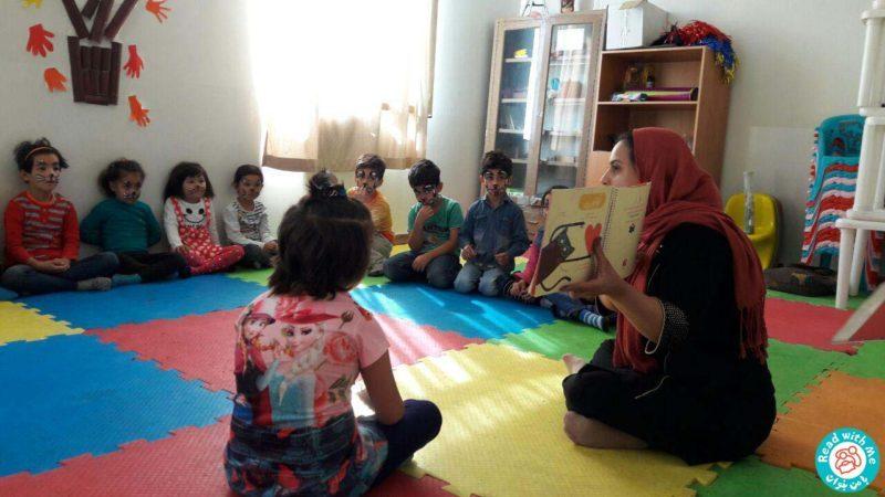 بلندخوانی داستانک ششم آواورزی، محمودآباد، مهر 96