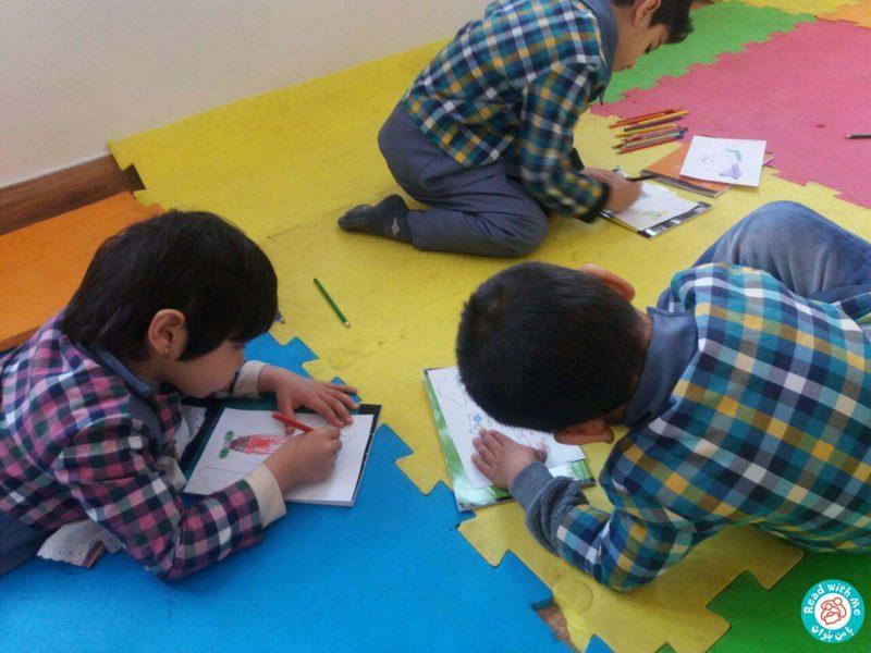بلندخوانی داستانک 4 آواورزی، محمودآباد، بهمن 96