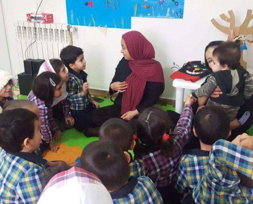 آشنایی با آوای نوزاد، محمودآباد، بهمن 96
