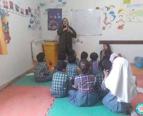 بلندخوانی داستانک 5 آواورزی، محمودآباد، اردیبهشت 97