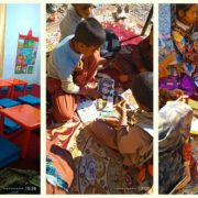 !The smile sits again on the face of children in Jahad-Abad