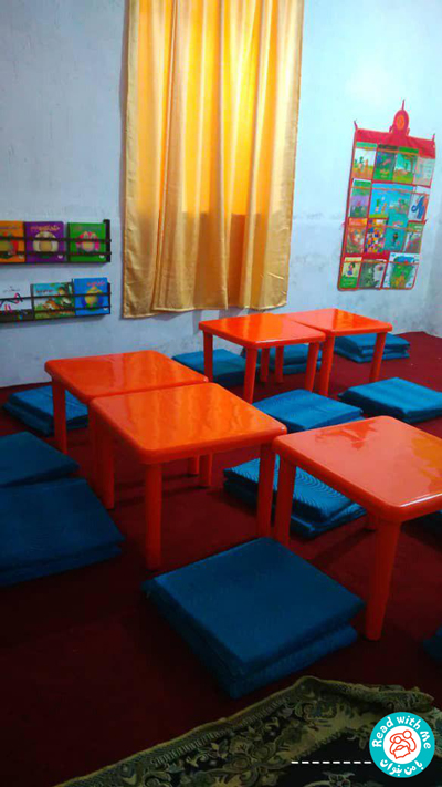 Child-centered environment in the classroom
