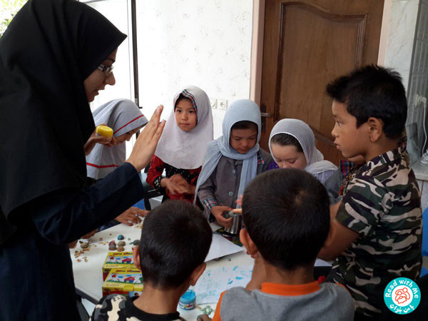 Literacy Education for Afghan girls and boys