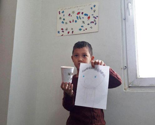 بلندخوانی کتاب « تپلی چه احساسی دارد؟»، محمودآباد، آبان 96